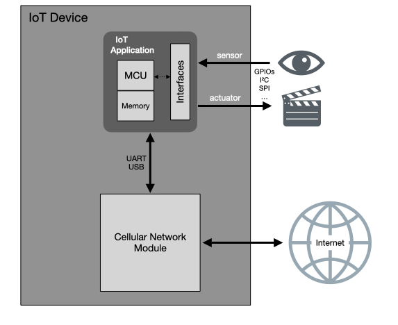 IoT cellular network modules